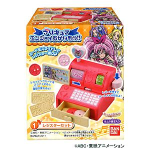 玩具菓子「プリキュア エンジョイおかいもの!!」発売(バンダイ