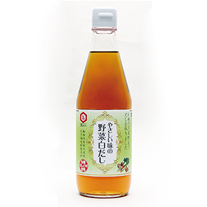 七福醸造、「やさしい味の野菜白だし」発売 白だし業界初・動物性原材料不使用
