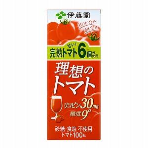 「理想のトマト」発売(伊藤園)