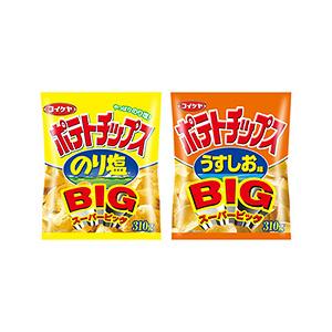 「スーパービッグサイズ ポテトチップス のり塩」発売(湖池屋)