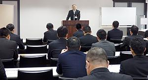 三井食品工業、「三井会」研修会開催 ユニークな「営業の極意」