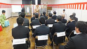 ヒライ、どんどんライス、「お米の感謝祭・新嘗祭」本社で開催