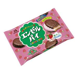 「エンゼルパイ ストロベリー」発売(森永製菓)