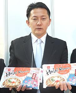 FABEX2015 林泉堂、生麺タイプの「ハラールラーメン」発売 5月から