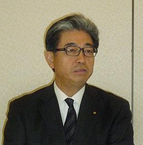 三田芳裕理事長