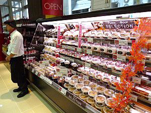 中食は同規模店の約2倍の約300品目を扱う