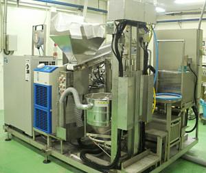 新型の米ペースト製造機械