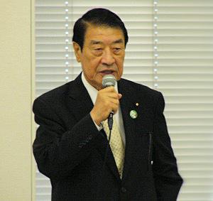 山田正彦衆院議員