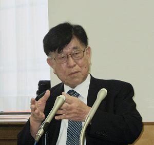秋本幸男会長