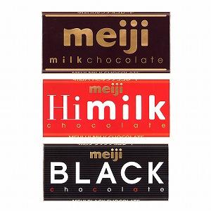 「ミルクチョコレート」発売(明治) ◆会社名=明治 ◆商品特徴=菓子。リニューアル。 A=「ミル