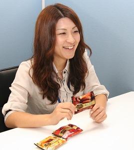 開発を担当した商品開発部新製品担当第二企画室・坂石萌さん