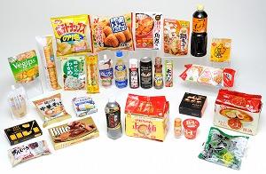 食品ヒット大賞、優秀ヒット賞、ロングセラー賞、ロングセラー特別賞に輝いた商品の数々