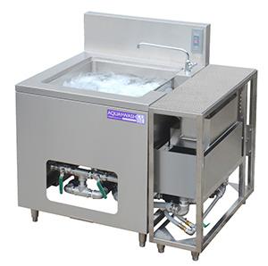 省スペースでも設置できる小型食品洗浄機「アクアウォッシュ・キューブTWS-115」