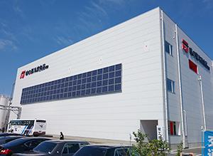 最新設備を誇る関東工場第一工場