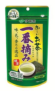 「お~いお茶 一番摘み緑茶」