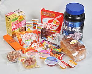 パラチノース配合の応用商品。医療・菓子・一般食品と極めて多岐にわたる