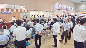 合併15周年を記念して行われた日本アクセス北海道の展示商談会