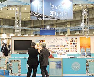 地域密着での展開を図る=日本アクセス展示会