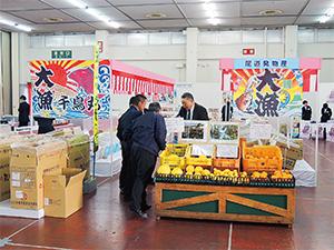 地域産品の開発が進む(広川展示会)