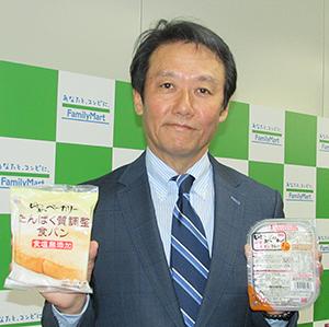 玉巻裕章取締役常務執行役員新規事業開発本部長は、「24時間365日、店頭で手に取って選べ1個から買える」と優位性を強調した