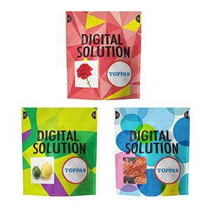 「トッパン FPデジタルソリューション」を用いて生産した製品サンプル