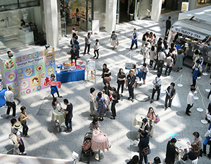 東京・KITTEで3日間、ヨーグルトの新たな楽しみ方体感型イベントを開催し、約1万人が来場