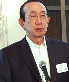 安藤宏基理事長