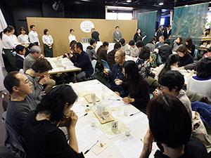 「日本茶AWARD(アワード)」(同実行委員会・NPO法人日本茶インストラクター協会主催)は新しい視点から個性的な日本茶を発掘し、消費者に発信する品評会として14年から始まった