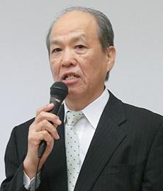 「豆乳の料理提案が需要を底支えしている」と語る日本豆乳協会の重山俊彦会長