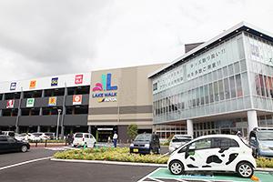 7月23日グランドオープンした、ユニーでは長野県初のショッピングモール「レイクウォーク岡谷」