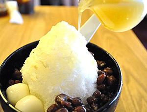 京都祇園あのん本店「かき氷西京味噌」(税別1200円)