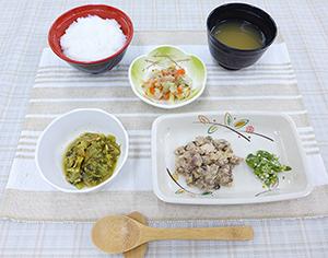 きざみ食の調理例
