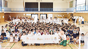 喜多見小学校でのセレモニーでお腹を元気にする授業などが行われた。プロジェクトの結果は11月10日(いいトイレの日)に発表する予定