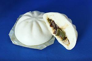 好調な動きを示す宇都宮の伝統野菜を使用した「新里ねぎのすき焼きまん」