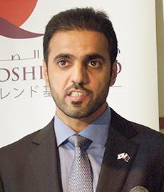 QFFDのカリファ・ビン・ジャシム・アル・クワリ局長