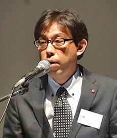 PITSの現状について話す宮川夏樹議長