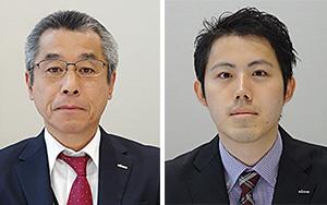 (左)佐藤彰夫日本製粉システムセンター取締役システム部長(右)土屋理希日本製粉システムセンターシステム部システム課員