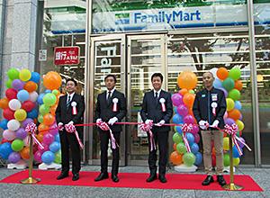 東京地区でサンクスからファミリーマート転換1号店