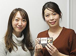 ロッテの塚原礼恵氏(左)とノンストレスの田村悠佳氏