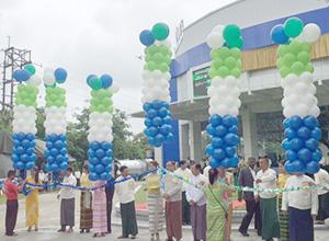 ミャンマー・ヤンゴン展示ショールームのオープニングセレモニー