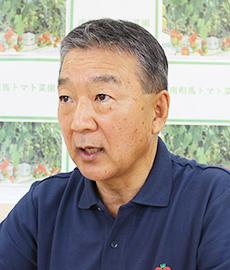 半谷栄寿社長