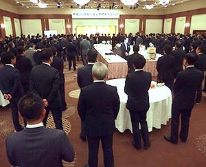 日食協北海道支部「加工食品業界新年交礼会」