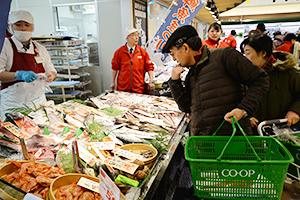 消費マインドは、節約志向は続くも明るさが見え始めてきた(札幌市内スーパー)