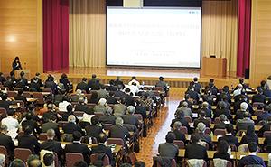 応募者多数のため業界団体向けと一般向けの2部制で開催された説明会