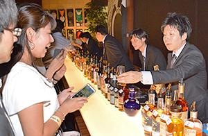 一般消費者を対象にした試飲会も活発化している