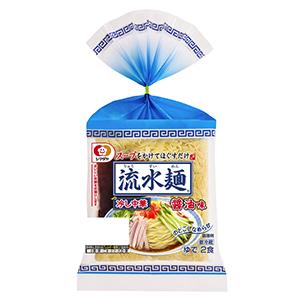 「流水麺」冷し中華 醤油味2食入