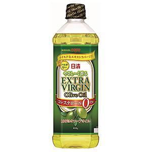 多彩な料理に毎日使える「日清 やさし~く香るエキストラバ ージンオリーブオイル」