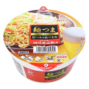 カップ麺つま四川風山椒味