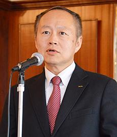横山清理事長
