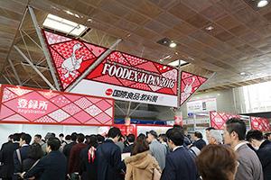 日本食ブームを背景に出展増(写真は前年)
